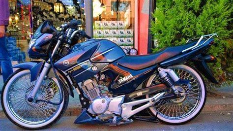 modifiyeli yamaha ybr  esd motosiklet modifiye