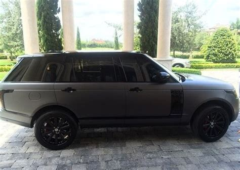 matte gray range rover black range rovers and sweet on pinterest