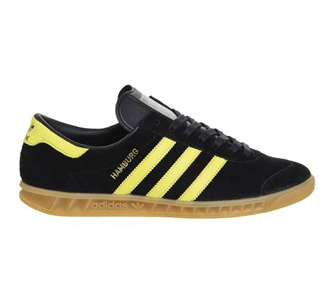 adidas hamburg black adidas originals hamburg trainers in black for men lyst
