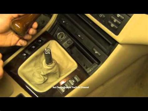 E90 Shift Knob Removal by Bmw Manual Transmission Shift Knob Removal And