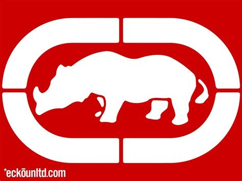 ecko unlimited apparel uses a rhino which is endangered