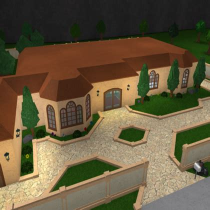 1 Floor Mansion Bloxburg For Boys - bloxburg house designs with fireplaces at the front