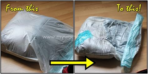 vacuum travel bag travel tip double your luggage space with vacuum bags