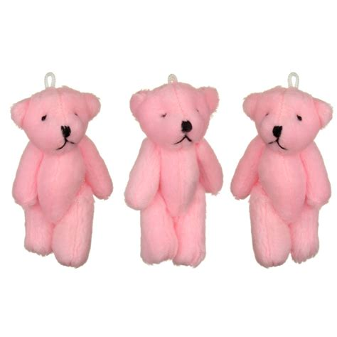 Kew Kew Kait Tas Import 3 8 Cm Nikel new and cuddly small pink teddy bears x 41 ebay