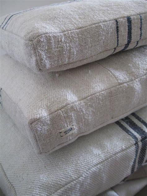 grain sack chair cushions 212 best grain sacks images on