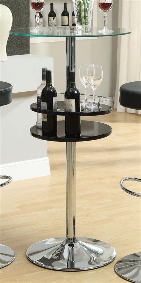 rec room tables rec room bar tables chrome glass bar table tables