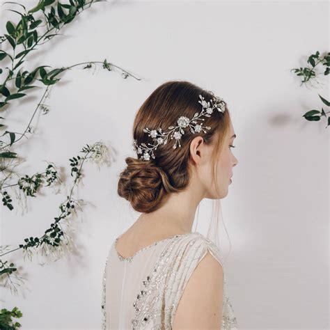 Vintage Bridal Hair Sydney by Bohemian Bridal Wedding Hair Vine Sydney By Debbie