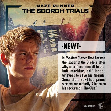 film maze runner the scorch trials online sa prevodom newt the maze runner poster google search the maze