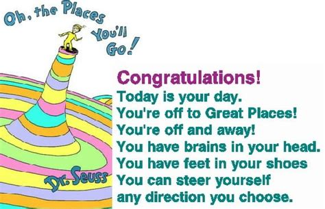 our journey quot oh the places you ll tamara hanson dr seuss and finding your voice