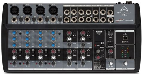Mixer Audio Black Spider 12 Ch wharfedale titan vocal band 600w pa system 12 quot 8
