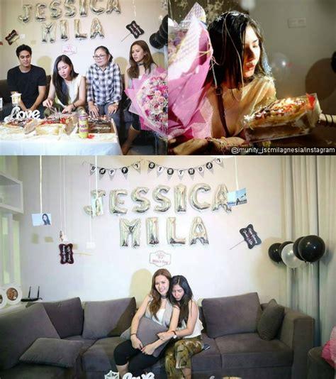 Milia Dan Kado Ulang Tahun so sweet mila ditemani mischa chandrawinata