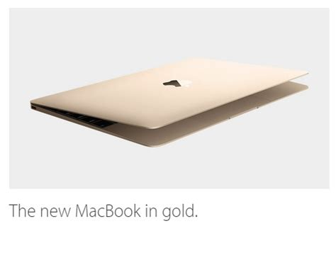 Macbook New Gold missinfo tv 187 apple introduces the new gold macbook