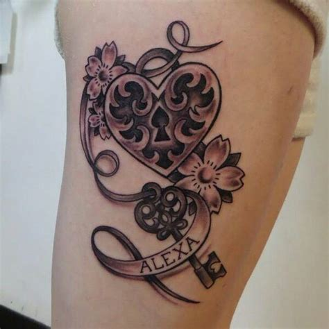 minimalist tattoo perth lock and key tattoos pinterest