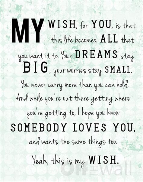 father daughter dance grad song quot my wish quot by rascal flatts