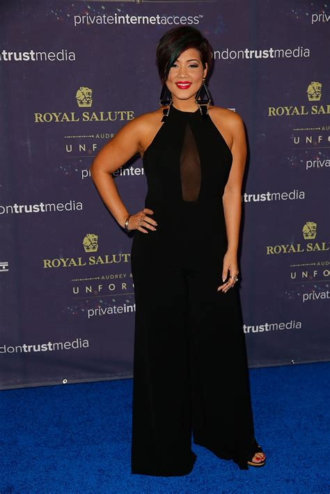 tessanne chin tessanne chin in 2014 unforgettable awards presented by