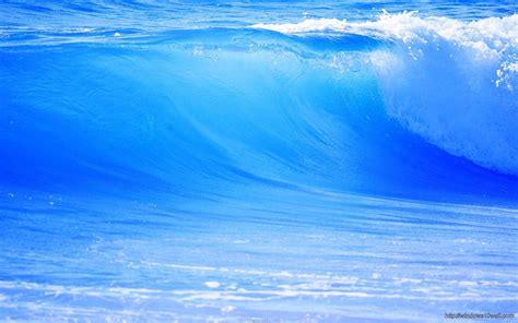 wallpaper blue wave blue wave ocean nature beautiful scenery hd wallpaper