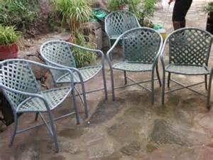 4 vintage brown quot garden quot patio furniture