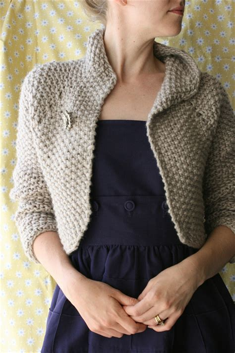 free knitted shrug and bolero patterns easy shrug knitting patterns in the loop knitting