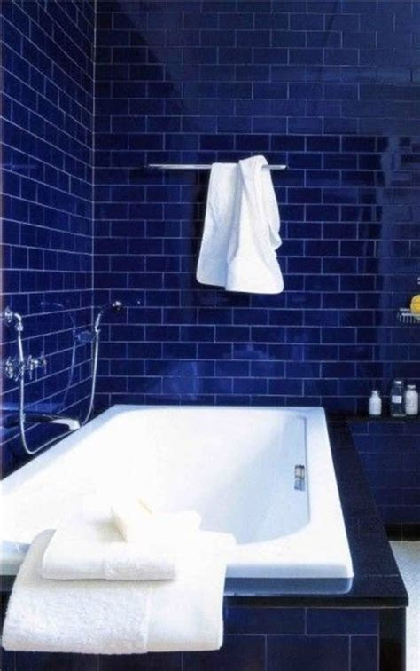 bathroom tiles blue and white 36 blue and white bathroom tile ideas and pictures
