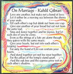 Wedding Quotes Kahlil Gibran Kahlil Gibran Wedding Quotes Quotesgram