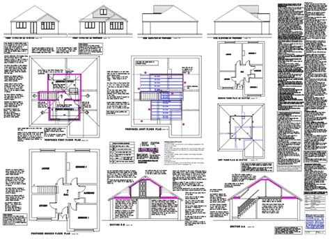 Attic Floor Plans by Loft Plans Architectural Floor Building Plans For Loft