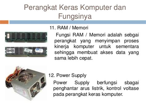 perangkat keras guna membuat jaringan lan 20 macam perangkat keras komputer dan fungsinya