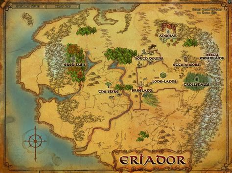 lord of the rings middle earth map visions of the ring concepts fansite for lord of the