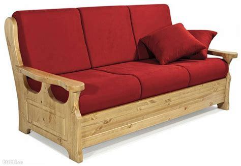 divano letto rustico legno divano di legno realizzare un divano con i pallet foto