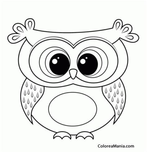 imagenes para colorear buho colorear buho owl hibou mussol gufo aves dibujo