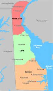 united states map of delaware map of delaware