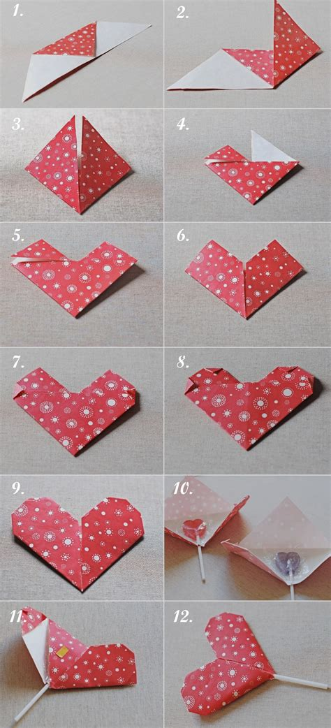 Origami Ideas For Valentines Day - diy origami valentine s favor gift pinpoint