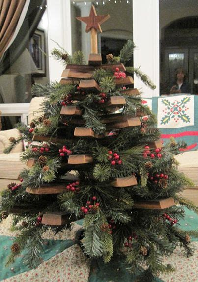 stave christmas tree wine barrel crafts barrel projects