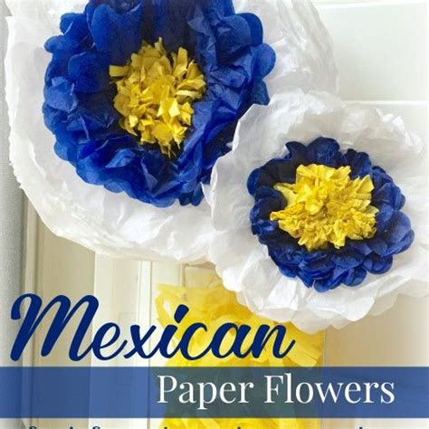 mexican paper flower tutorial pretty mexican paper tissue flowers diy tutorial perfect