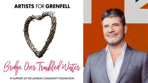 Offers 100000 To Simon Cowell by Simon Cowell Donates 163 100 000 As He Releases Grenfell