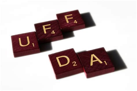 da scrabble word uff da picture free photograph photos domain
