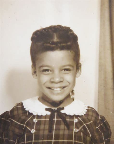 1950 hairstyle working women vintage 1950 s golden smile african american black girl