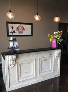 Salon Desks Reception 25 Best Ideas About Salon Reception Desk On Salon Reception Area Salon Ideas And
