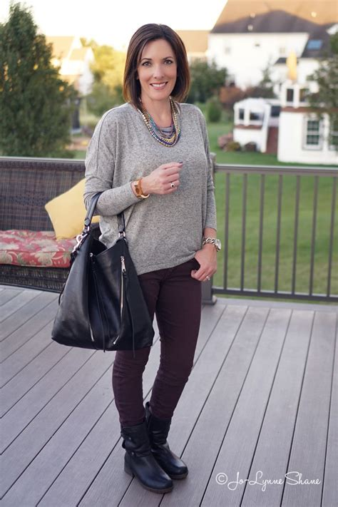 jeans for women in their 40 how to wear a statement necklace with a casual outfit