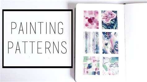 how to do a sketchbook painting patterns 183 30 ways to fill a sketchbook