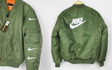 Jaket Bomber Rebel Id nike bomber jacket ebay