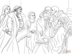 Jesus In The Temple Coloring Page jesus preaching in the temple coloring page coloring pages