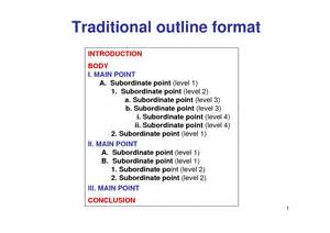 Different Types Outline Formats by Best Photos Of Key Word Outline Template Informative