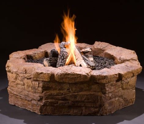 how to light a gas fire pit get it all in this diy gas fire pit kit surround valve