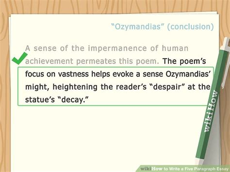Write 5 Paragraph Essay by How To Write A Five Paragraph Essay With Exles Wikihow