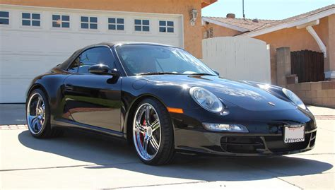 porsche 911 custom porsche 911 carrera 4s with custom porsche rims 2006
