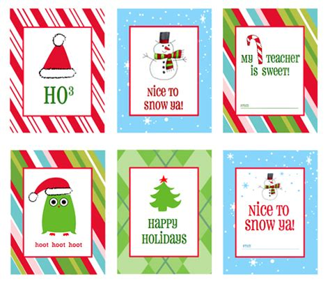 christmas free printables diy gift ideas