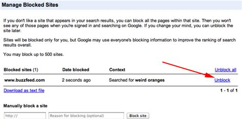 google images unblocked searchers can t unblock blocked google search results