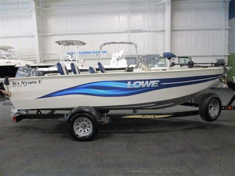 lowe boats used 2003 used lowe boats fm175v sea nymph aluminum fishing