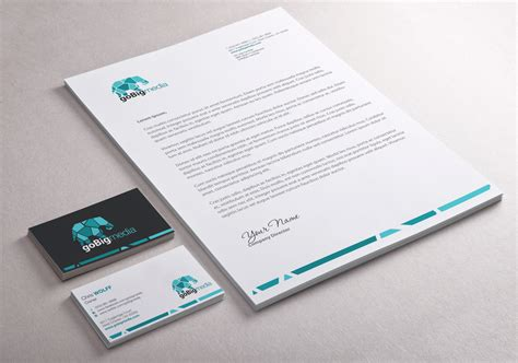 design com professional upmarket stationery design design for fred