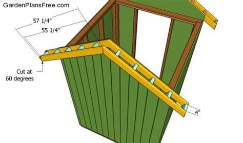 How To Build A Shed Roof Overhang by Sally Building A Shed Roof Overhang